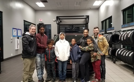 West Blvd Ministry Presents Family With Their First Car for Christmas
